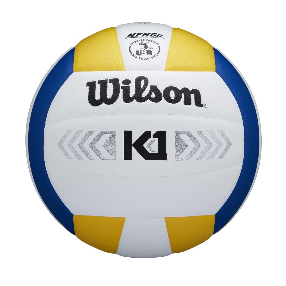 Wilson K1 Silver- Yellow/White/Blue