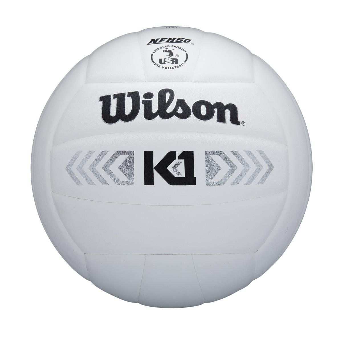 Wilson K1 Silver- White
