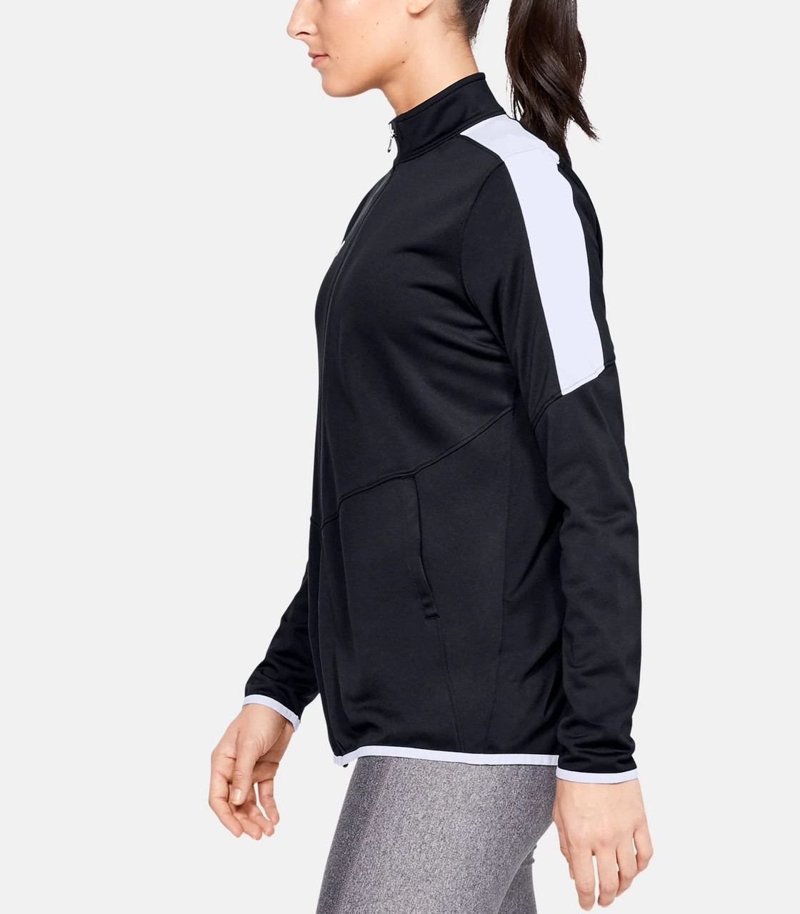 UA Women's Rival Knit Jacket- Side
