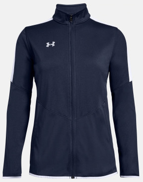 UA Women's Rival Knit Jacket- Navy