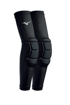 Mizuno Padded Elbow Sleeves- Black