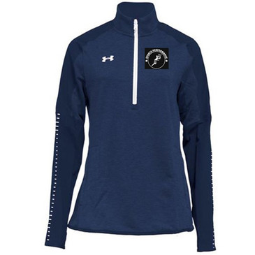 UA SPVB Women's 1/4 Zip- Navy
