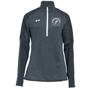 UA SPVB Women's 1/4 Zip- Grey