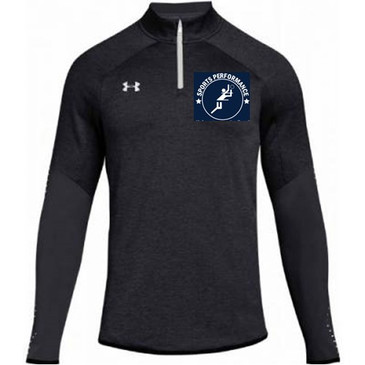 UA SPVB Men's 1/4 Zip- Black