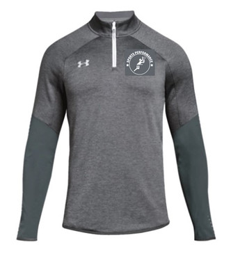 UA SPVB Men's 1/4 Zip- Grey