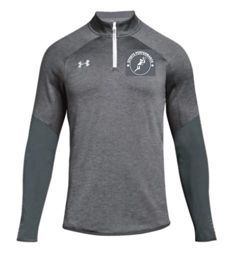 UA SPVB Men's 1/4 Zip- Grey
