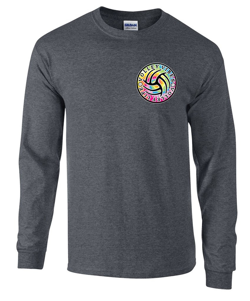 Tie Dye VB VIbes LS- Front