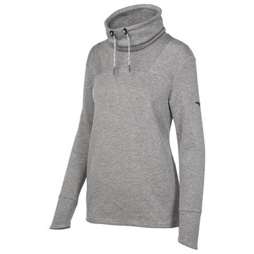 Momentum Funnel Neck Pullover-Grey