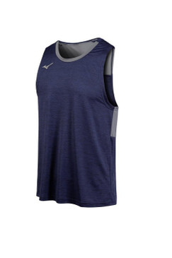 Men's Alpha Singlet- Navy