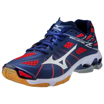Mizuno Men's Wave Lightning Z - Navy-Red