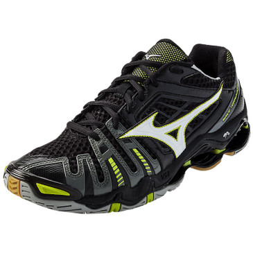 Mizuno Men's Wave Tornado 8 - Black-White