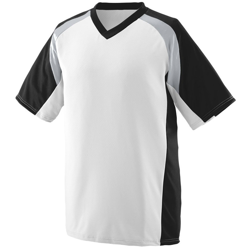 Augusta Men's Nitro Jersey - White/Black