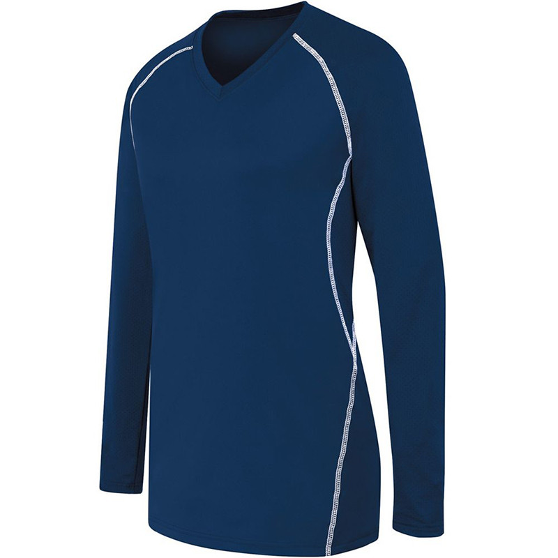 High Five Women's Solid Jersey - Navy