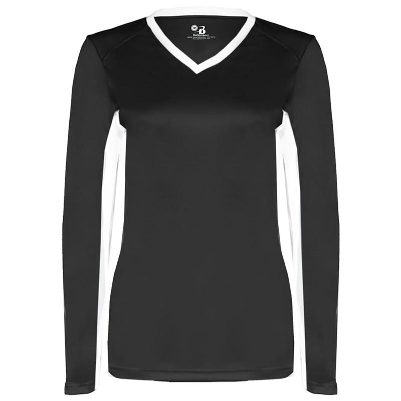Badger Women's Dig Long Sleeve Jersey - Black