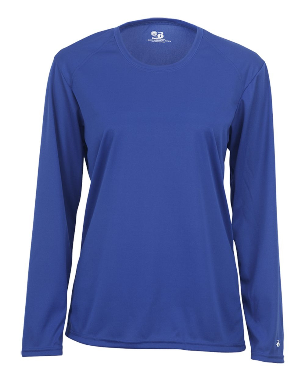 Badger Women's Core Long Sleeve Tee - Royal