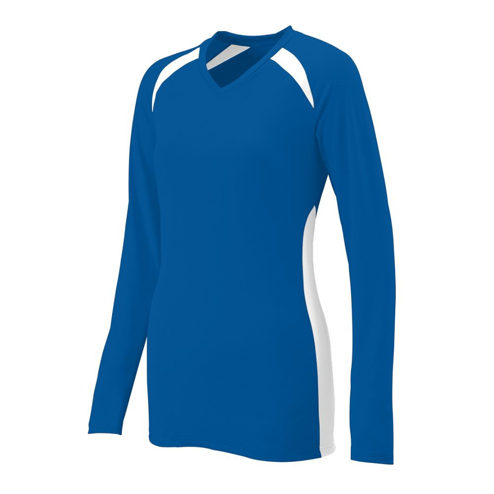 Augusta Women's Spike Jersey - Royal