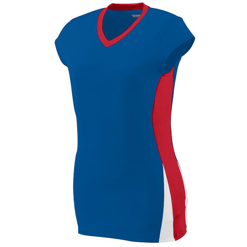 Augusta Women's Hit Jersey - Royal