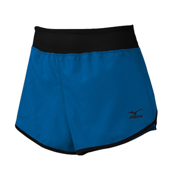 Mizuno Women's Dynamic Cover Up Short - Diva Blue/Black