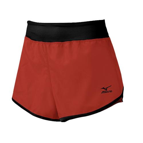 Mizuno Women's Dynamic Cover Up Short - Red/Black