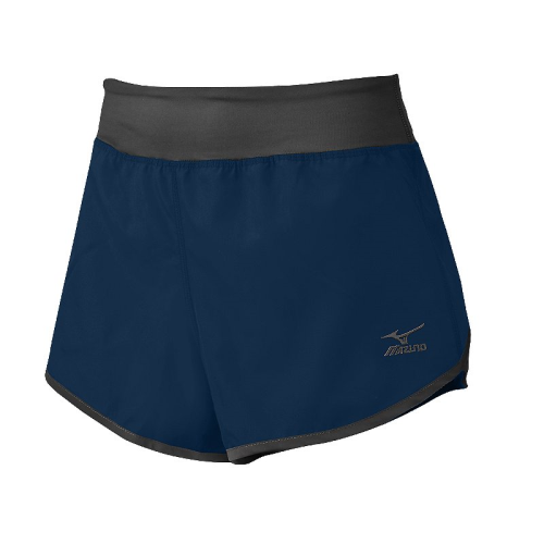 Mizuno Women's Dynamic Cover Up Short - Navy/Charcoal