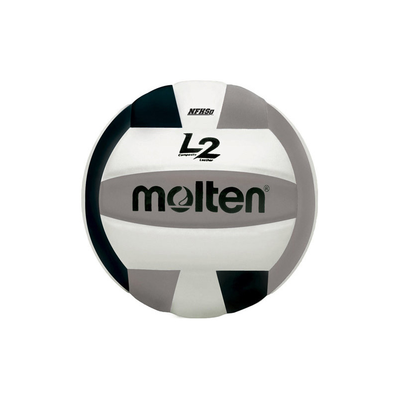 Molten L2 Volleyball - Black/Silver