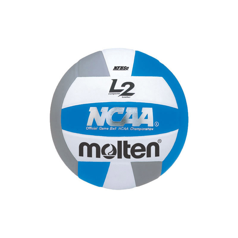 Molten L2 Volleyball - Light Blue/Silver