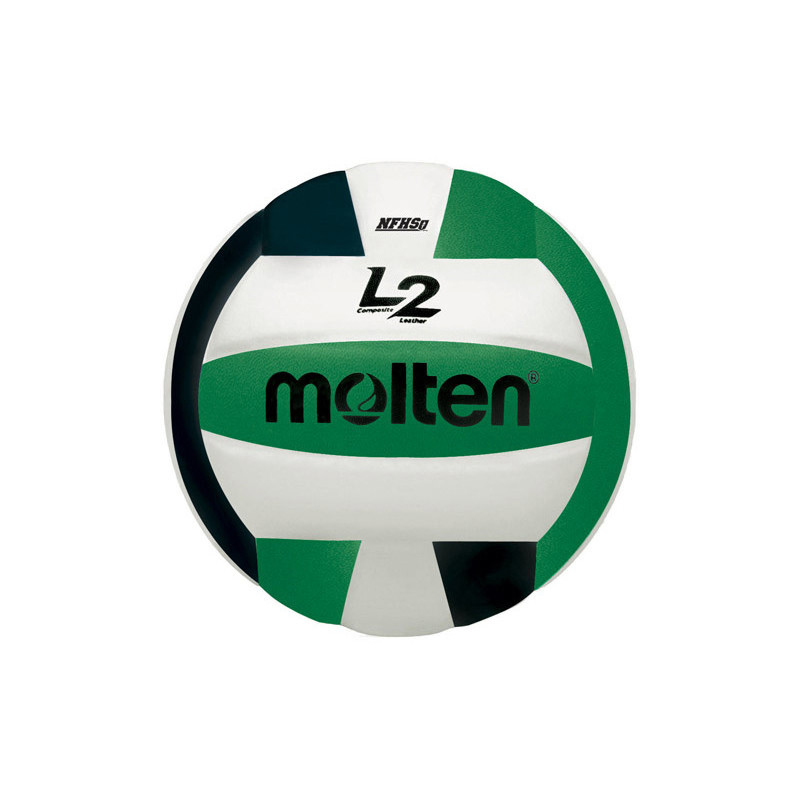 Molten L2 Volleyball - Green/Black