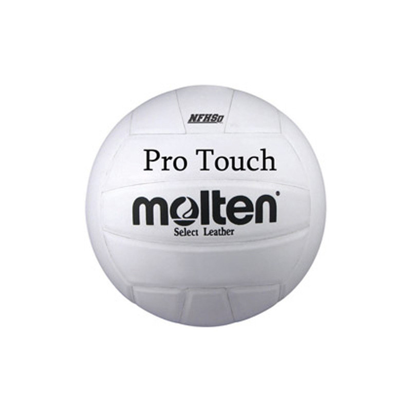Molten Pro Touch Volleyball - White