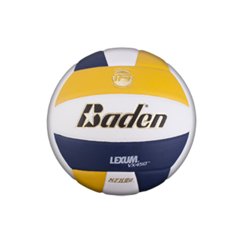 Baden Lexum Comp VX450 Volleyball - Yellow/Navy