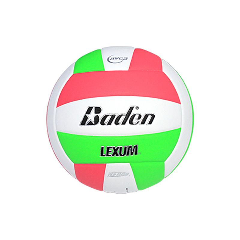 Baden Lexum Comp VX450 Volleyball - Neon Pink/Neon Green