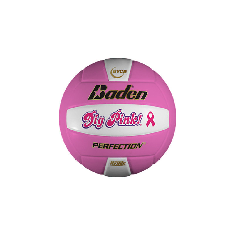 Baden VX5E Perfection Elite Series Volleyball - Pink