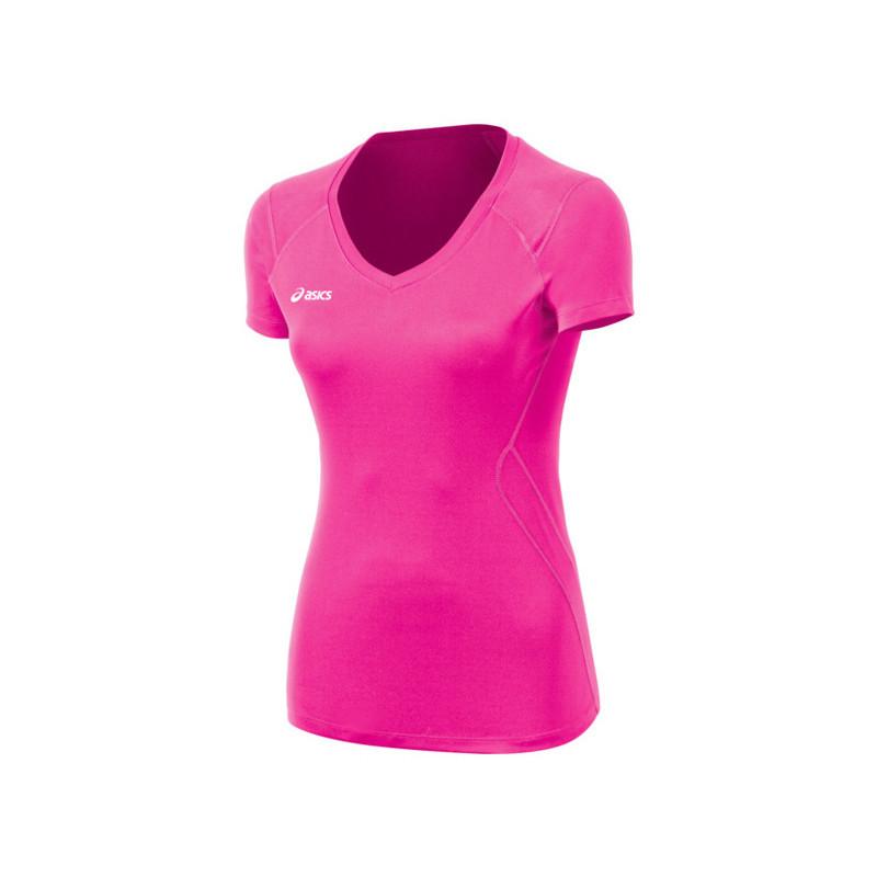 Asics Women's Set Jersey - Pink