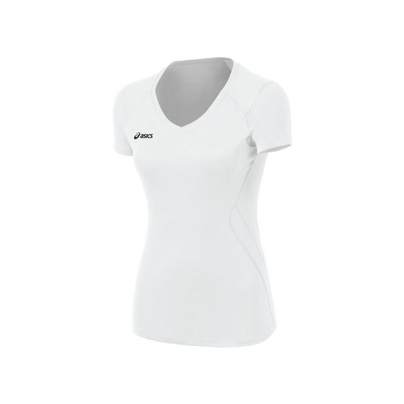 Asics Women's Set Jersey - White