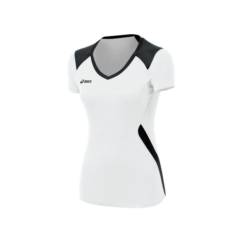 Asics Women's Set Jersey - White/Black