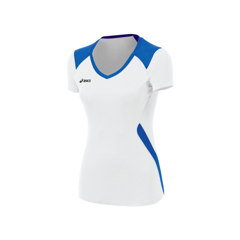 Asics Women's Set Jersey - White/Royal