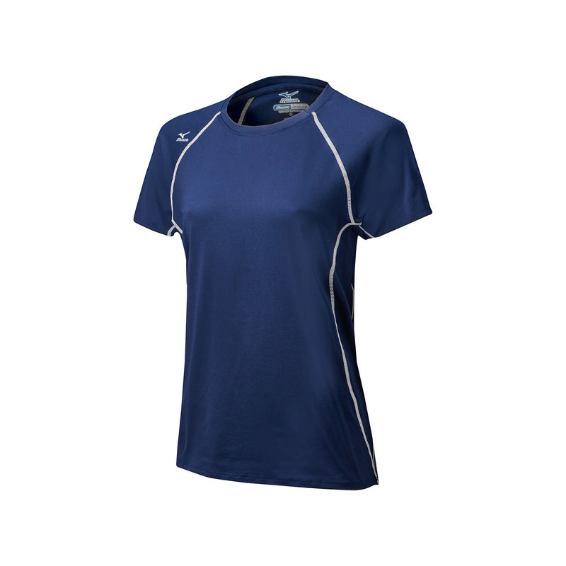 Mizuno Youth Balboa 3.0 Short Sleeve Jersey - Navy
