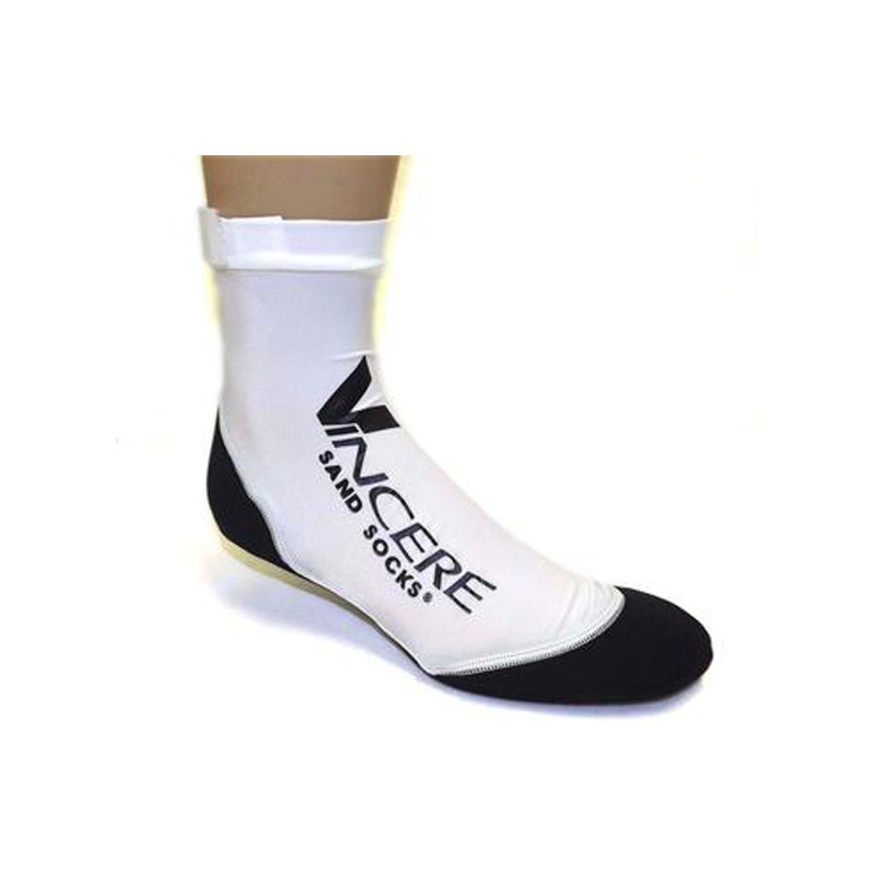 Vincere Sand Socks - White