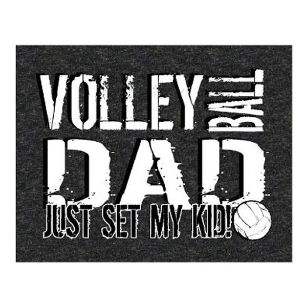 Volleyball Dad Set T-Shirt