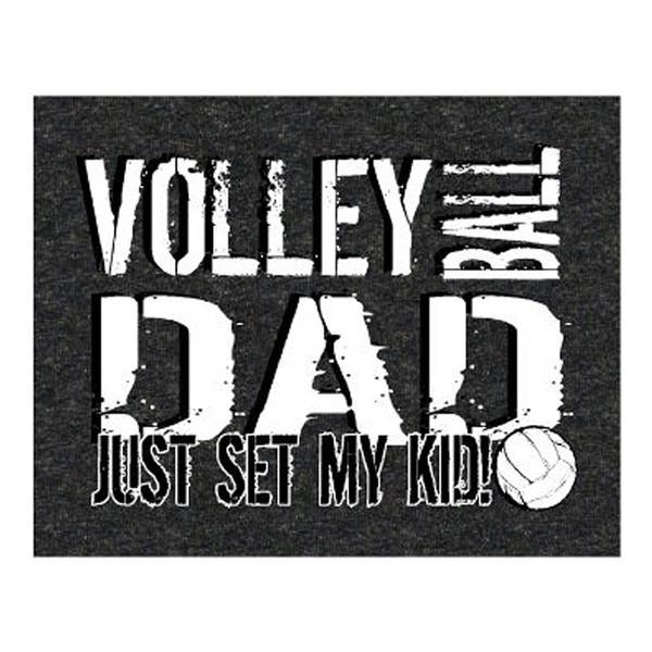Volleyball Dad Set T-Shirt