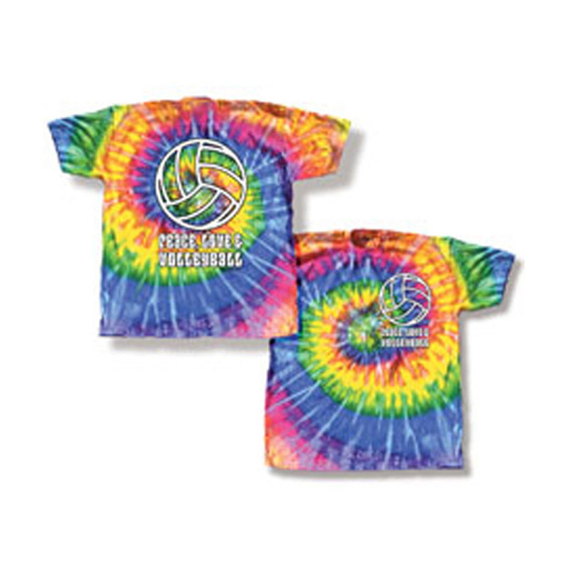 Tie Dye Volley T-Shirt
