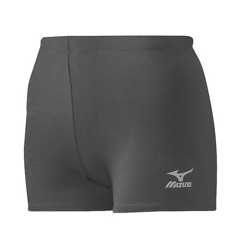 Mizuno Women's Vortex Hybrid Short - Charcoal
