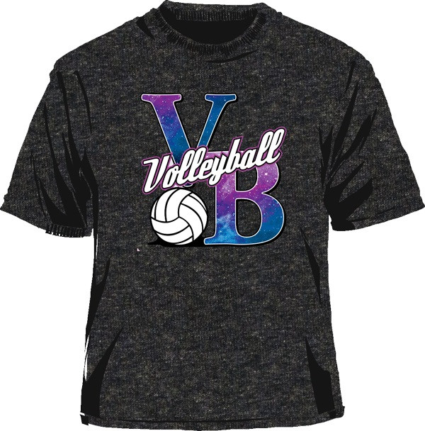 Galaxy VB SS T-Shirt - Grey
