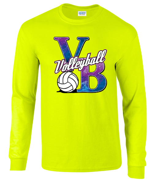Galaxy VB LS T-Shirt - Neon Yellow