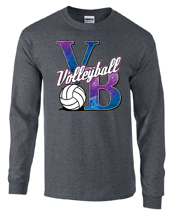 Galaxy VB LS T-Shirt - Grey