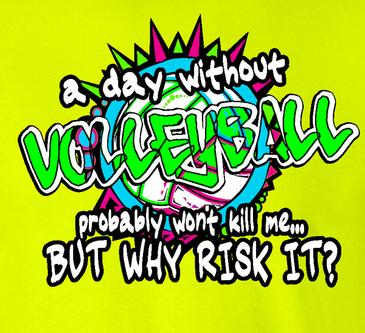Risk It SS T-Shirt - Neon Yellow