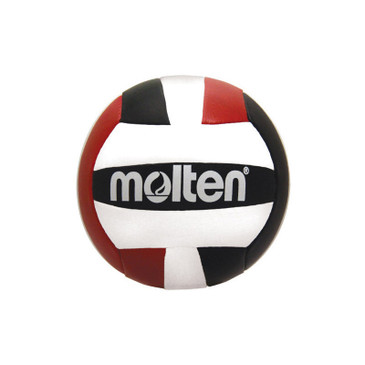 Molten Mini Volleyball - Red/Black