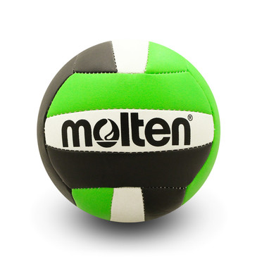 Molten Mini Volleyball - Black/Lime