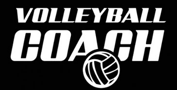 Volleyball Coach Decal