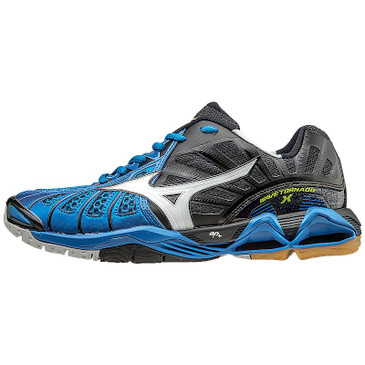 Mizuno Men's Wave Tornado X - Directoire Blue-Black
