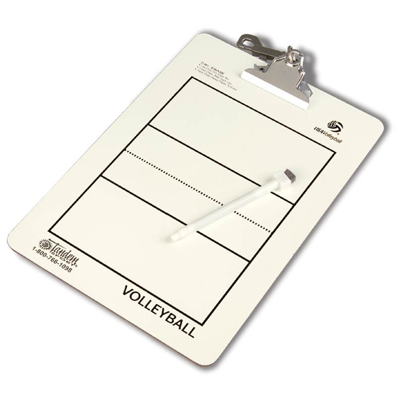 Coaches' Volleyball Clipboard